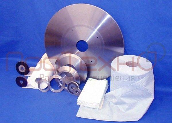 Нож дисковый (орбитальный). Орбитальная пила для нарезки логов туалетной бумаги на рулончики.
