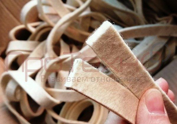 Фетр или лента для валов и фрикционов