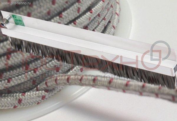 Средства для снятия статики на производстве - антистатический шнур и щетка
