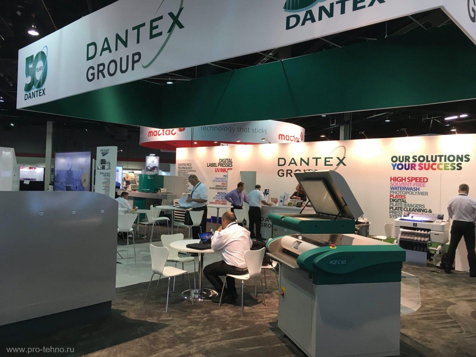 Dantex Россия печатные и анилоксовые гильзы