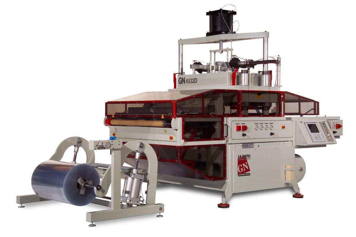 Пластиковое производство и устройство для термоформования с подачей в рулонах GN Thermoforming Equipment