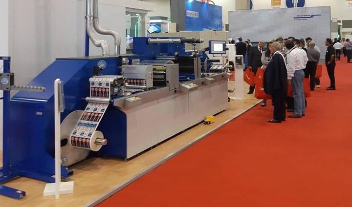 Печатные машины SMAG узкорулонных машин трафаретной и флексографской печати из Франции