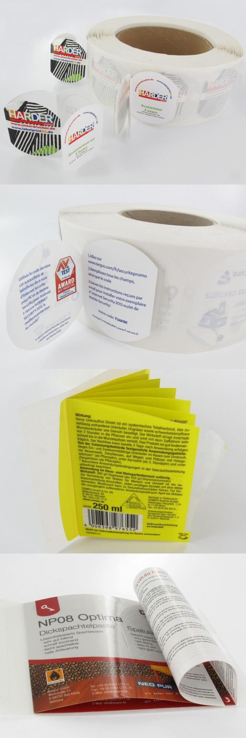 оборудование для этикетки Применение специальных видов печатных красок, таких как термохромные и проводящие краски