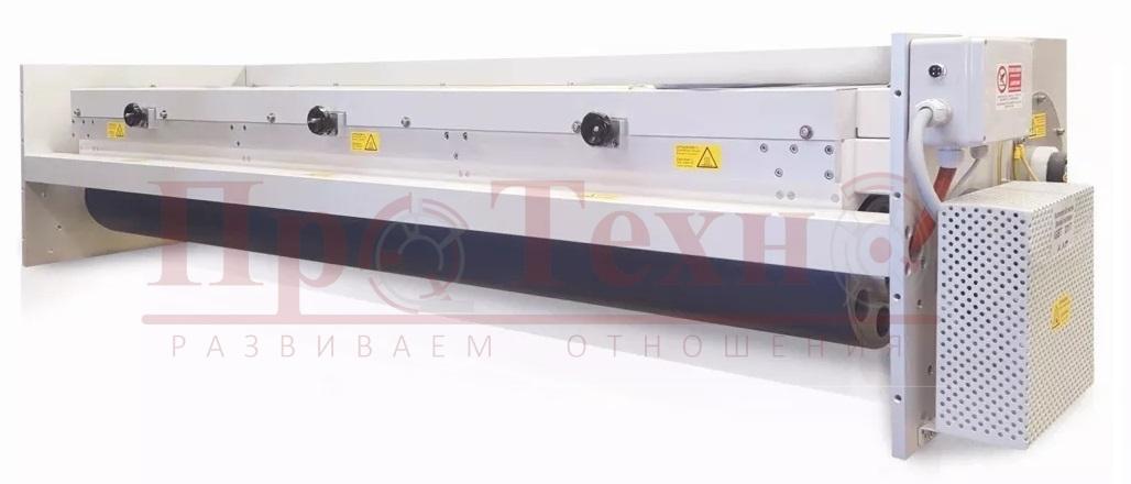 Коронатор для для широкорулонных печатных флексографских машин и высокоскоростных линиях ламинации и послепечатной обработки материалов