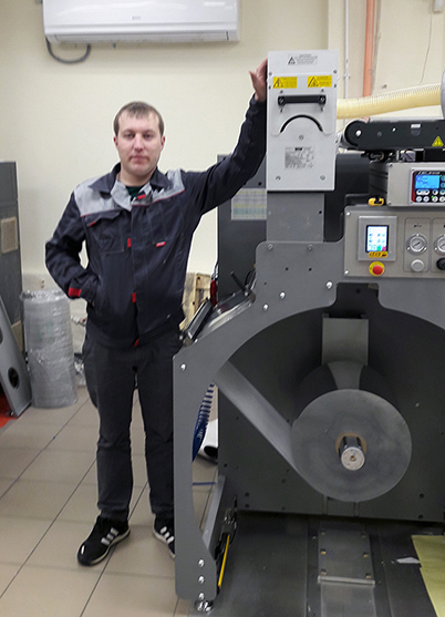 установка коронатра для флексопечати в Воронеже на узкорулонную печатную машину