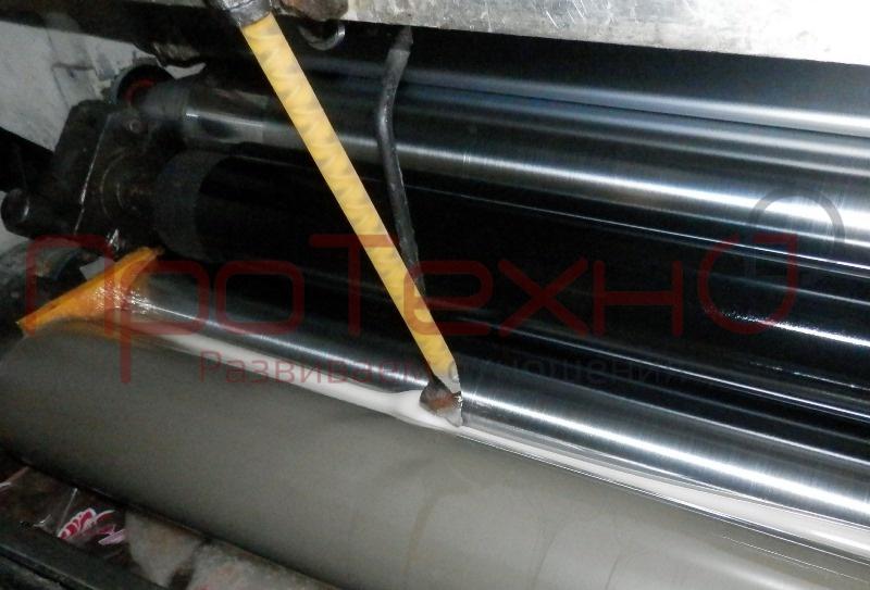 Дозаторы, насадки и статические смесители для подачи клея в соотношении  на ламинаторах