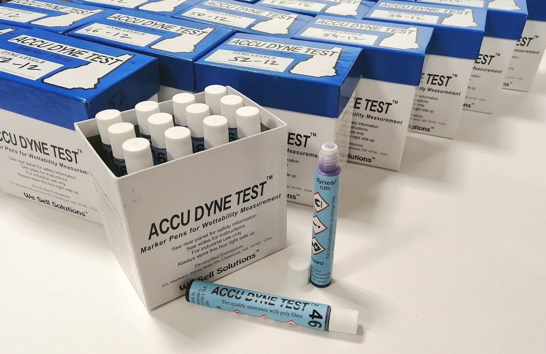 Тестовые маркеры AccuDyne от 30 Дин