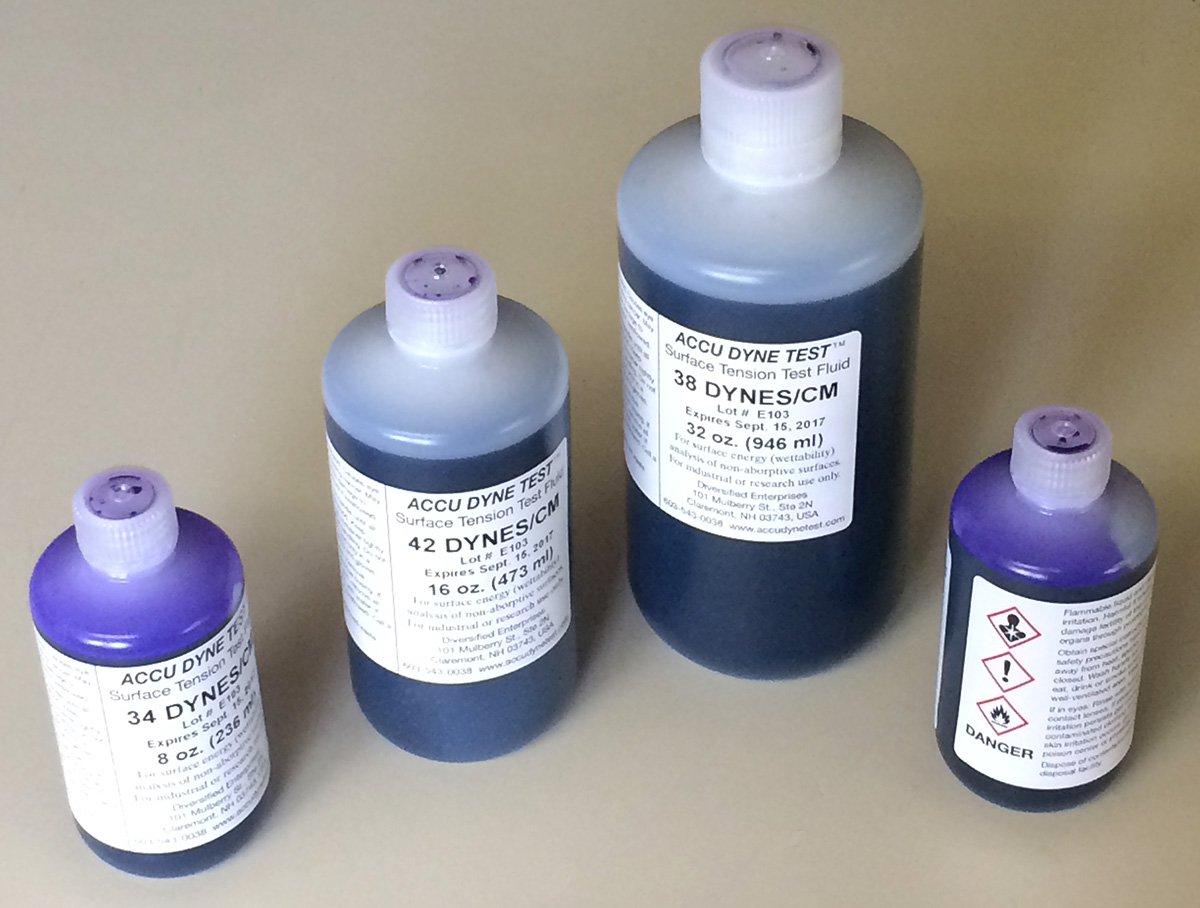 чернила тестовые accu dyne test от 30 Дин/см по 30 мл.